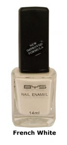 <b>BYS Nail Polish - French White No. 12</b>